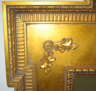 Maitland Smith La Barge Hand Crafted Gold Shell Motif Beveled Glass
