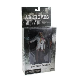 Cool Resident Evil Archives Lab Coat Zombie 18cm PVC Figure New in Box