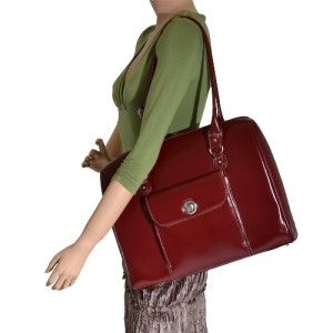 McKlein Marycrest Ladies 15 4 Leather Laptop Tote Bag Limited Edition