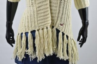 Hollister by Abercrombie Laguna Hills Knit Hand Sweater Cardigan Top