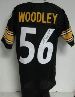Lamarr Woodley Steelers Autographed Signed Jersey JSA
