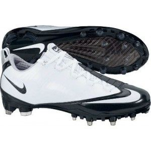 Carbon Football Lacrosse Soccer Cleats White Black Size 16 New