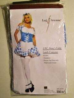 Leg Avenue Marys Little Lamb Costume XS Halloween