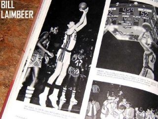 BILL LAIMBEER PALOS VERDES HIGH SCHOOL YEARBOOK   NBA DETROIT PISTONS