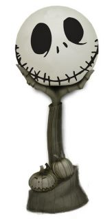 NECA Nightmare Before Christmas Figural Lamp Jack Skellington Head in