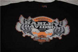 Davidson   Mens S/S black screen printed t shirt   Langhorne PA LARGE