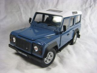 Land Rover Defender Cararama Diecast Collection Car Model 1 24 1 24