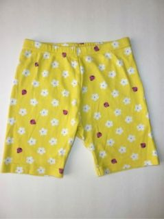 Gymboree Pretty Lady Girl Yellow Ladybug Bike Shorts 10