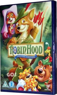 Robin Hood Walt Disney Special Edition Film Childrens Movie DVD New