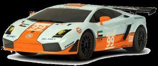 Scalextric Slot Car C3283 Lamborghini Gallardo GT R No 99 Gulf