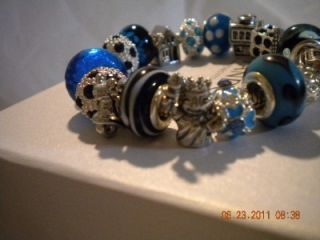 Authentic Pandora Bracelet w New York City Theme