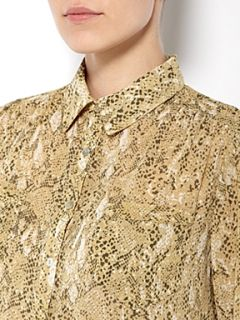 Linea Weekend Snake print shirt Multi Coloured