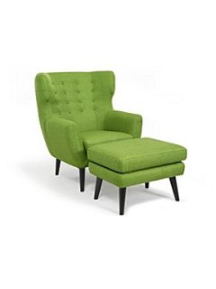 Linea Charlie chair and stool lime