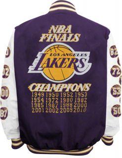 Los Angeles Lakers Commemorative Championship Varsity Jacket