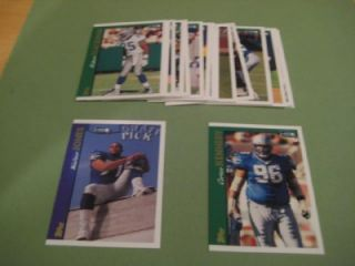 1997 Topps Seattle Seahawks Team Set