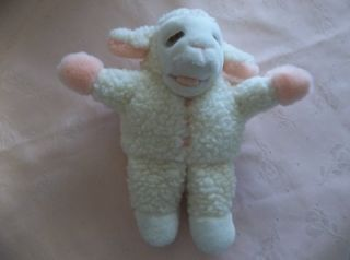 Sherry Lewis Lamb Chop Full Body Fleece Hand Puppet Avon 1991