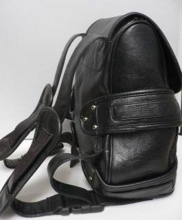 Lara Croft Backpack Pleather Black Bag Tomb Raider