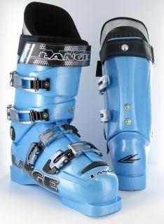 Lange World Cup Team Crazy Blue 2007 Ski Boots 7 5