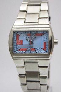 New Marc Ecko Langston Men Steel Dress Watch 39mm E85002G4