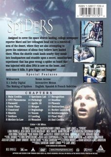 Spiders 2000 Lana Parrilla DVD New
