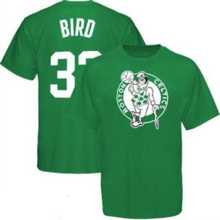 Larry Bird 33 Boston Celtics Hardwood Classics T Shirt