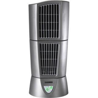 Electric Tower Fan, Mini Desktop Compact Personal Lasko Air Cooler AC