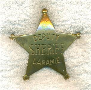 Western Badge Deputy Sheriff Laramie