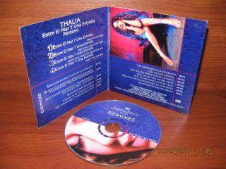 Thalia Entre El Mar Y Una Estrellacd Promo Mexico 2000