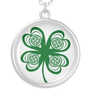 Lucky Irish Clover / Shamrock Necklace