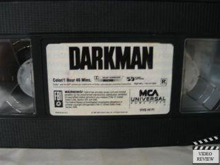 Darkman VHS Liam Neeson Larry Drake Sam Raimi 096898097833