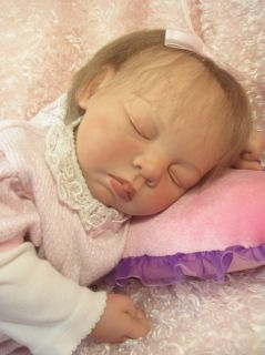 Charlotte by Simon Laurens Reborn Baby Girl Doll OOAK