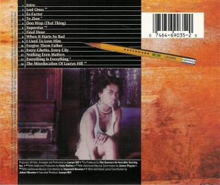 The Miseducation of Lauryn Hill CD 074646903520