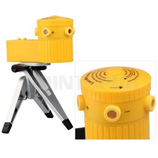 Orange Multifunction Laser Level Measurement Tool Tripod Stand