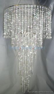 Super Large Combo Acrylic Crystal Chandelier Wedding Event Party