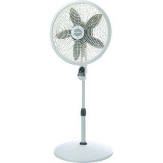 Portable Oscillating Pedestal Fan w/ Remote Control, Adjustable Height