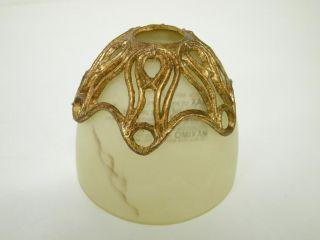 Eurofase 13433 017 Laurance 1 Light Pendent Antique Gold Faux
