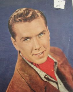 Male Movie Star clippings Glenn Ford Peter Lawford