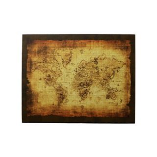 Old World Map Vintage Art Puzzle