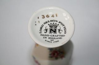 397 Lord Nelson Pottery Vintage Numbered Mini Vase