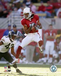 Arizona Cardinals Larry Fitzgerald Red NFL Kids Boys Jersey Size 5 6