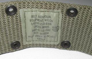 USGI Military Army Pistol Web Utility Belt Med Foliage