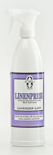 Le Blanc Antique Linen Press Ironing Spray Starch Fragrance Scent 32
