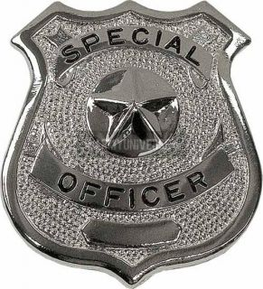 Silver Special Officer Law Enforcement Badge (Item # 1902)