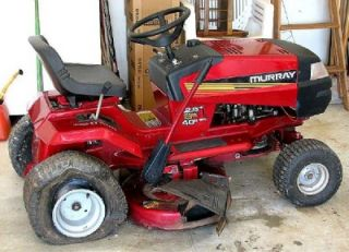 Murray 12 5 HP 40 Cut Riding Lawn Mower Cheap