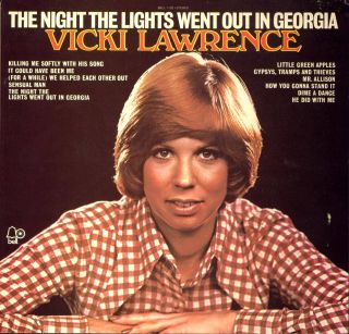 Vicki Lawrence Night The Lights Went Out Reel Tape OOP