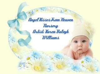 Reva Schick Noah OOAK Reborn Baby Boy Angel Kisses from Heaven Nursery