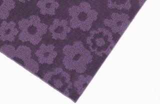 Kids Girls Childrens Nursery Area Rug New Carpet Purple 5 x 7 Floral