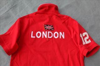 Polo Ralph Lauren Custom Fit Big Pony Mesh Shirt 2012 USA Olympics M