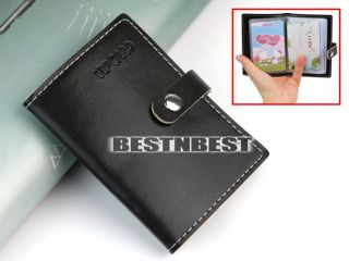 Soft Leather Business ID Credit Card Wallet Case Bag Holder Very Thin