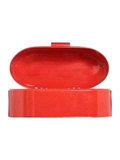 Linea Bright red bread bin